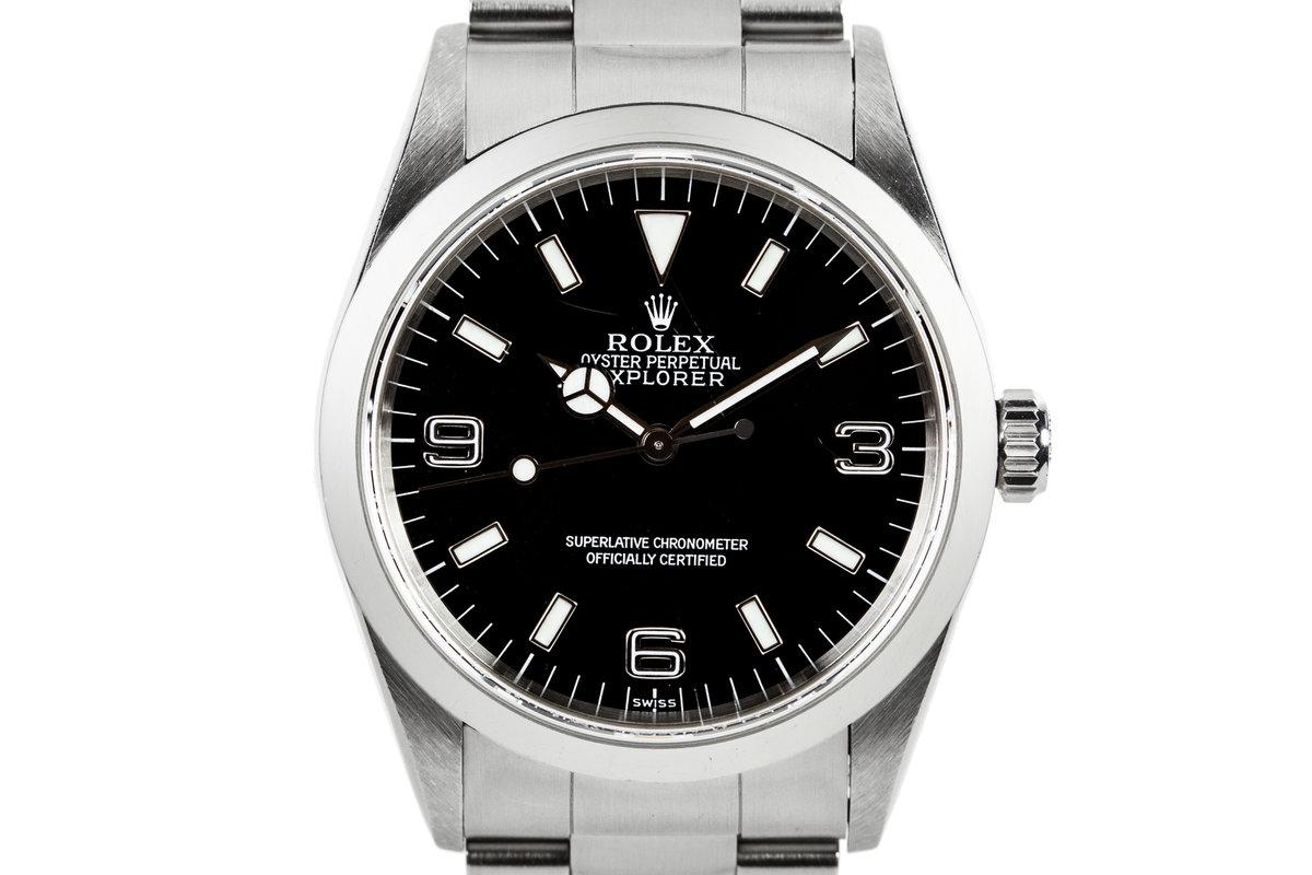1997 Rolex Explorer 14270 Swiss Only Dial photo, #0