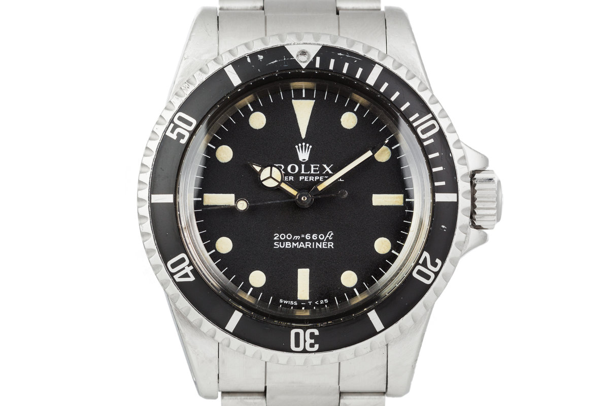 1967 Rolex Submariner 5513 with Meters First Dial photo, #0