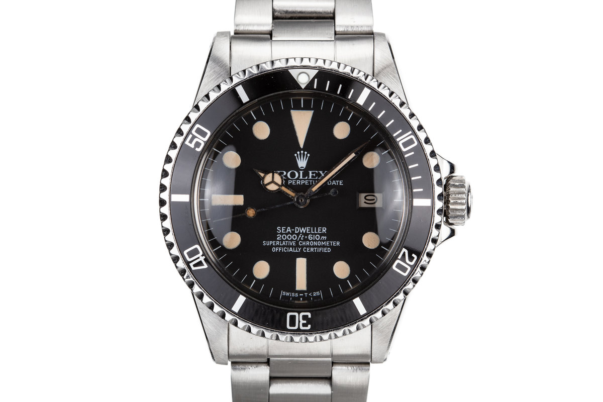 1981 Rolex Sea-Dweller 1665 photo, #0