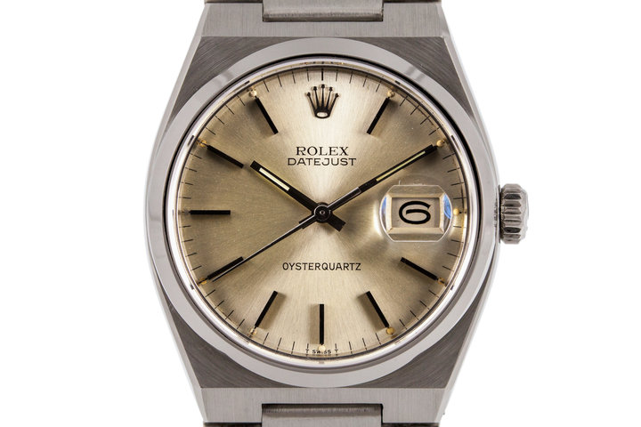 1978 Rolex OysterQuartz DateJust 17000 photo