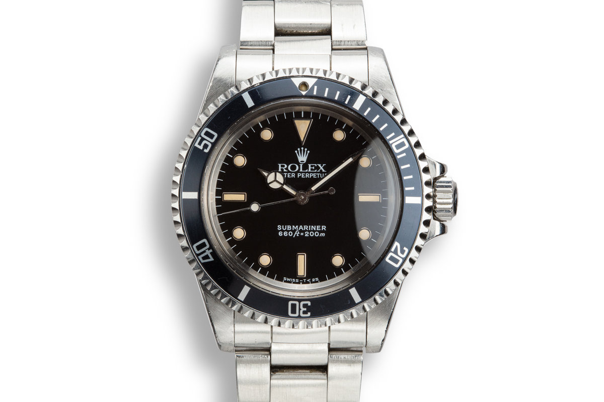 "1988 Rolex Submariner 5513 ""R serial"" photo, #0"
