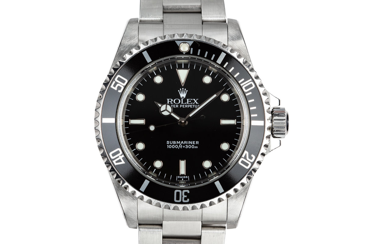 1999 Rolex Submariner 14060 with SWISS Only Dial photo, #0
