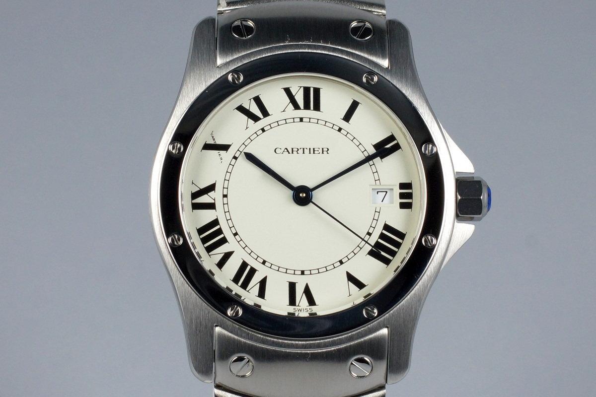 Cartier Santos Ronde 1561 1 photo, #0