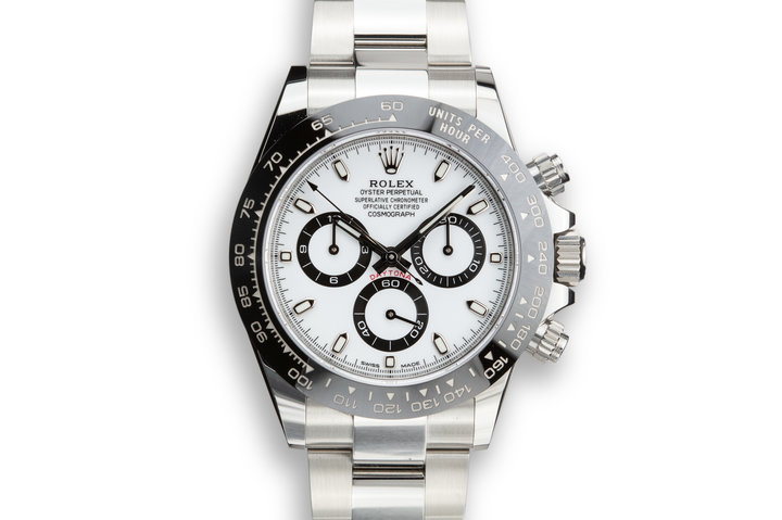 2019 Rolex Daytona 116500LN White Dial with Box and Papers photo