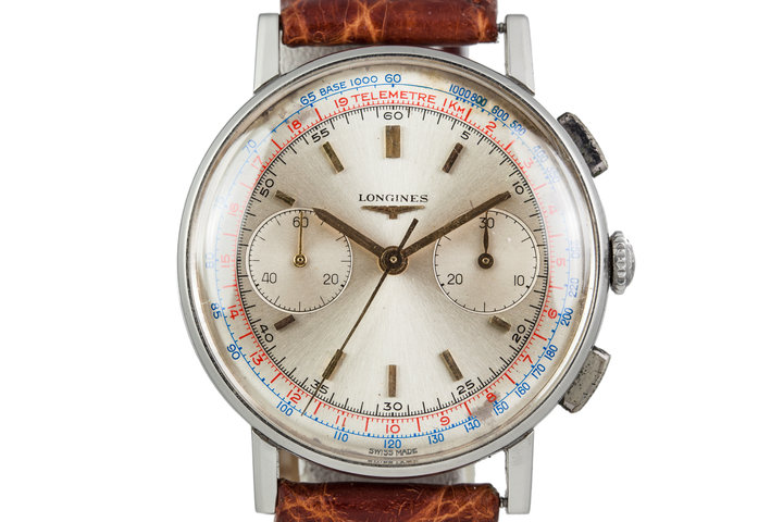 1960s Longines Chronograph 7412-4 with Extract From the Archives photo