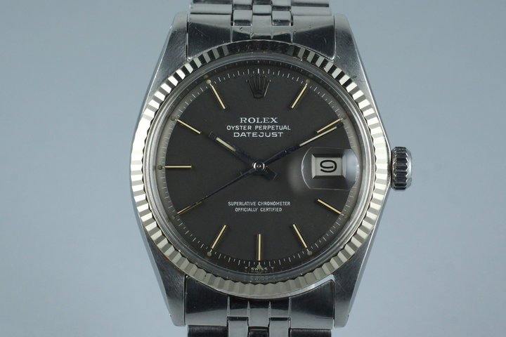 1971 Rolex DateJust 1601 with Matte Gray Dial photo