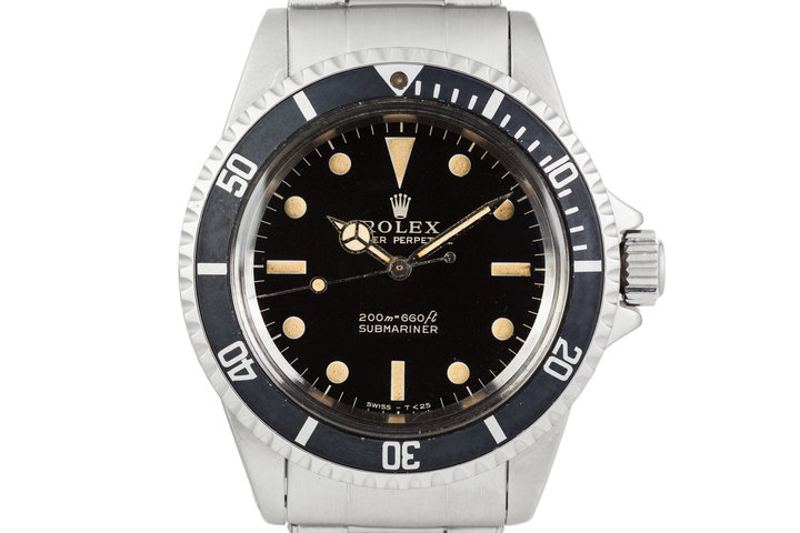 1965 Rolex Submariner 5513 with Gilt Dial photo