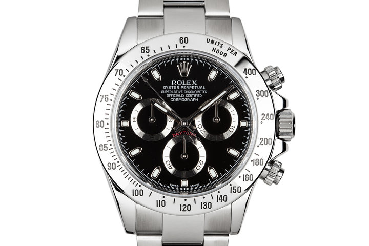 2010 Rolex Daytona 116520 Black Dial with Box and Papers photo