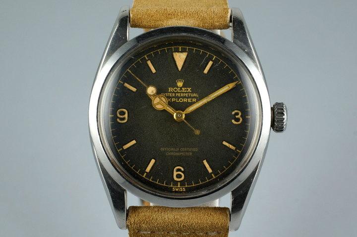 1956 Rolex Explorer 1 6610 photo