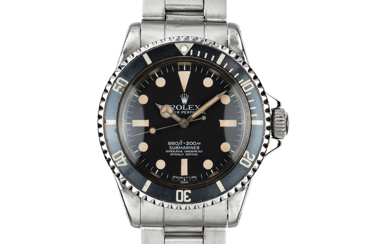1965 Rolex Submariner 5512 with Newer Mark 1 Maxi 5512 Dial photo