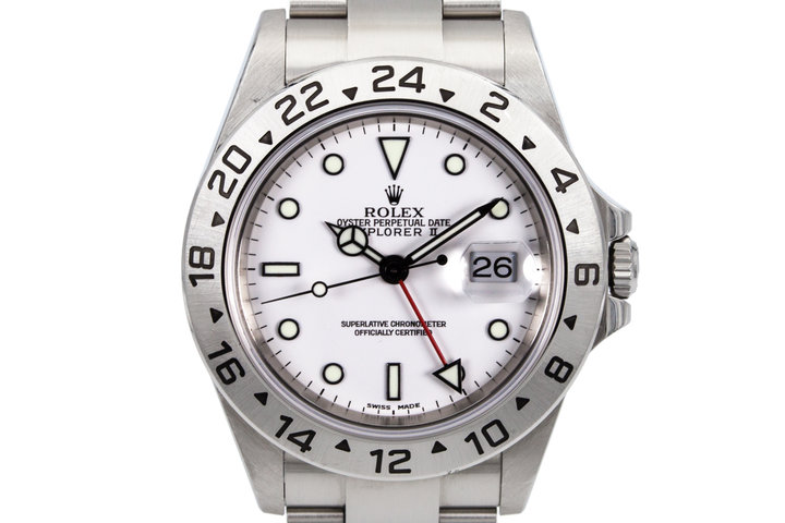 2003 Rolex Explorer II 16570 photo