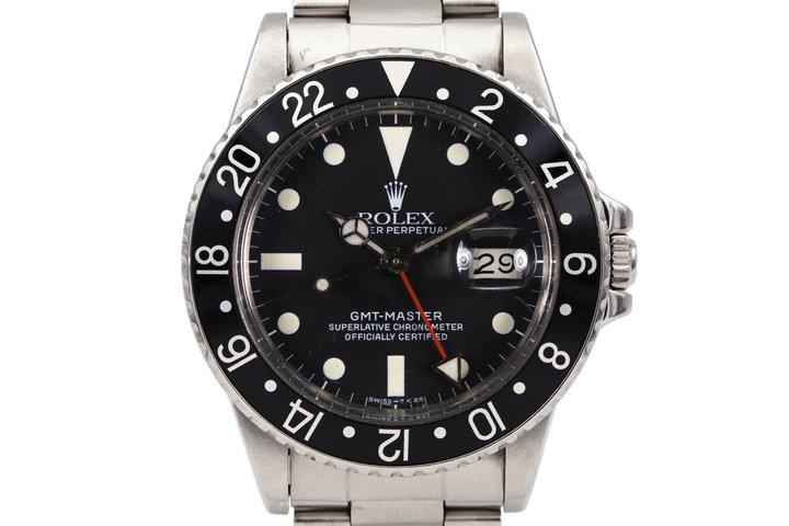 1981 Rolex GMT 16750 photo