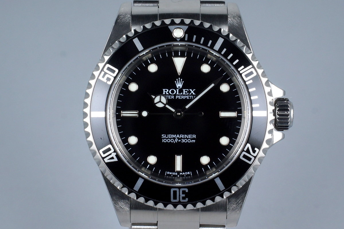 2006 Rolex Submariner 14060M with Box and Papers photo, #0