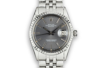 1973 Rolex DateJust 1603 with Grey Sigma Dial photo