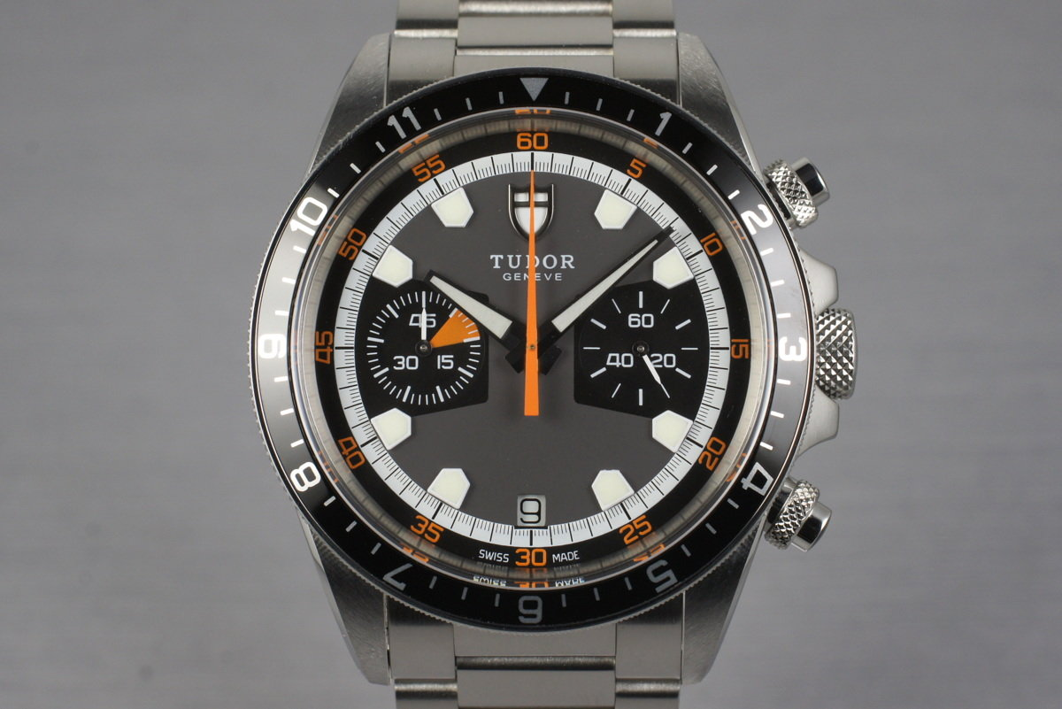 2010 Tudor Heritage Chrono 70330N with Box and Papers photo, #0