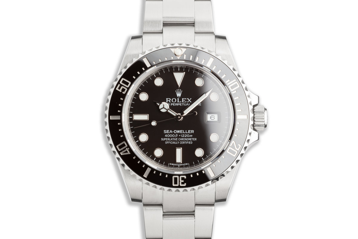 2014 Rolex Sea-Dweller 116600 with Box & Card photo, #0