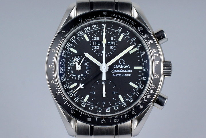 2001 Omega Speedmaster Day Date 3520.50 with Box and Papers photo