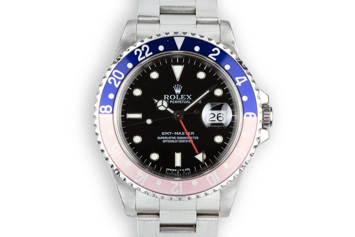 """1997 Rolex GMT-Master 16700 """"Pepsi"""" photo, #0"""
