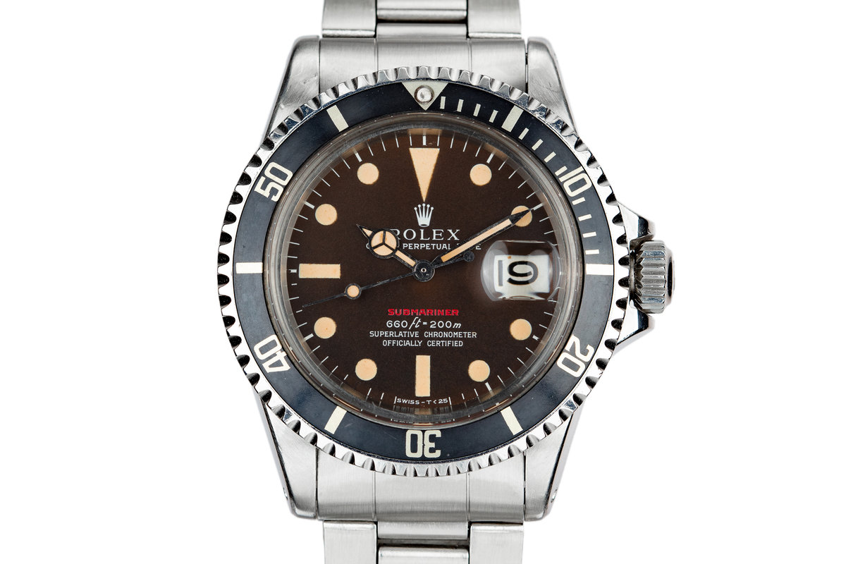 1971 Rolex Red Submariner 1680 with MK IV Tropical Dial photo, #0