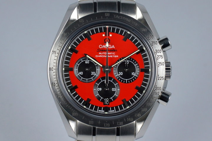 2007 Omega Speedmaster 3506.61 Michael Schumacher 'Legend' photo
