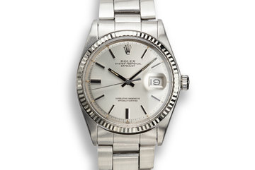 1970 Rolex DateJust 1601 Silver Dial photo