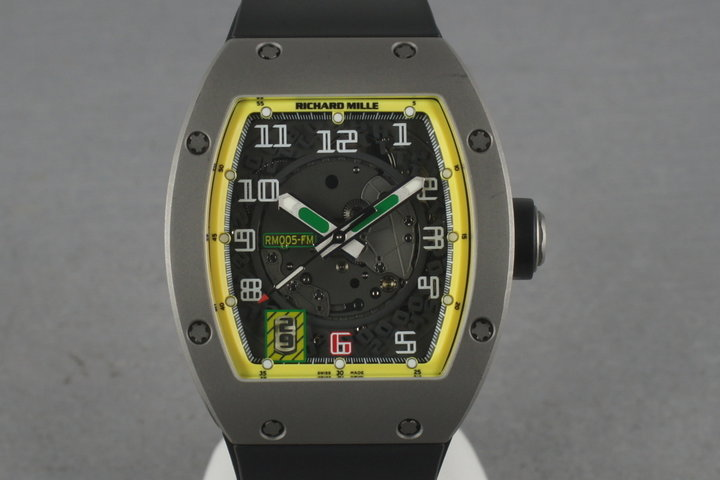 Richard Mille RM005-FM Titanium Felipe Massa 89/300 photo