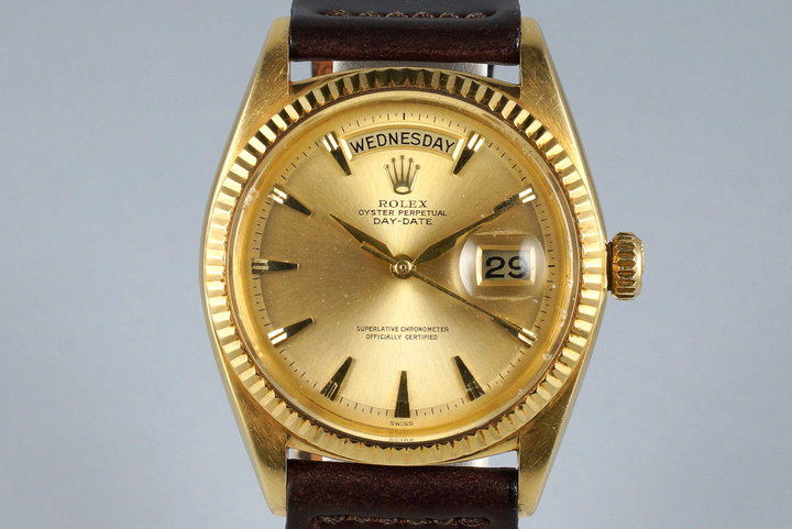 1962 Rolex YG Day-Date 1803 photo