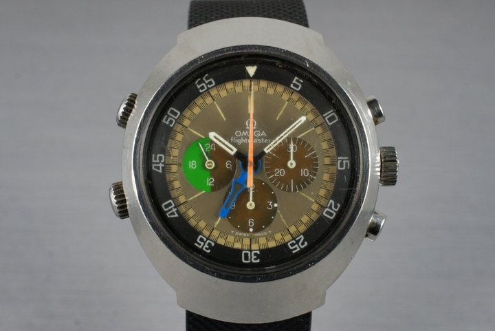 1969 Omega 910 Flightmaster Tropical Dial photo