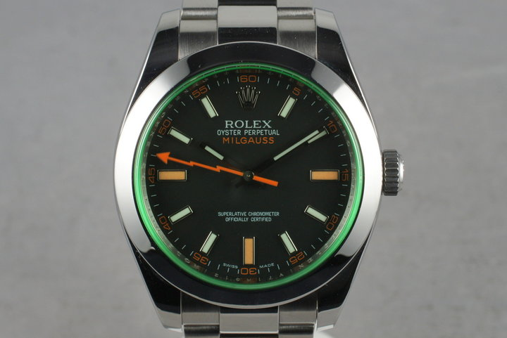2009 Rolex Milgauss Green 116400GV photo