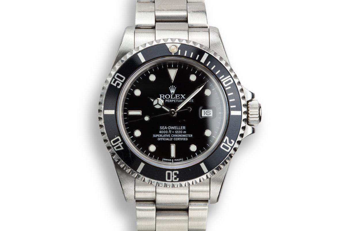 1986 Rolex Sea-Dweller 16660 photo, #0