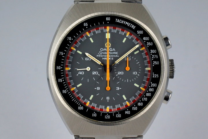 1974 Omega Speedmaster Mark II 145.014 Racing Dial photo