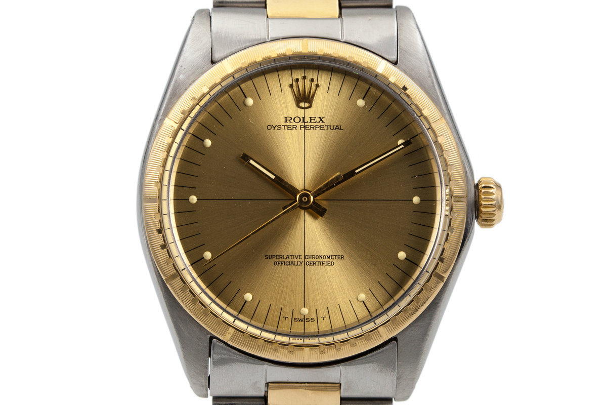 HQ Milton , 1969 Vintage Rolex Two Tone Oyster Perpetual