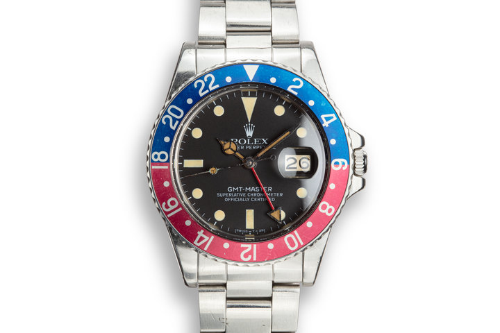 "1979 Rolex GMT-Master 16750 ""Pepsi"" with Service Papers photo"