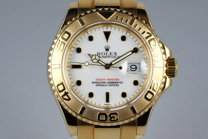 1998 Rolex YG Yacht-Master 16628B with Box and Papers photo