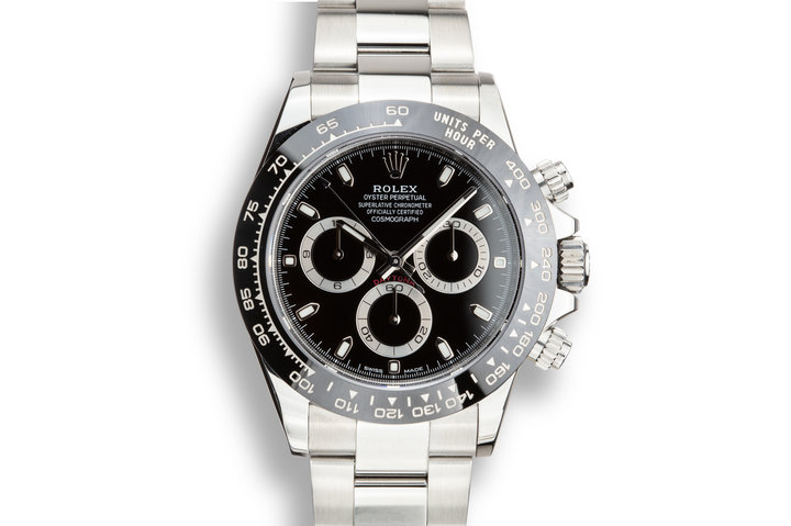 2018 Rolex Daytona 116500LN Black Dial with Box and Papers photo