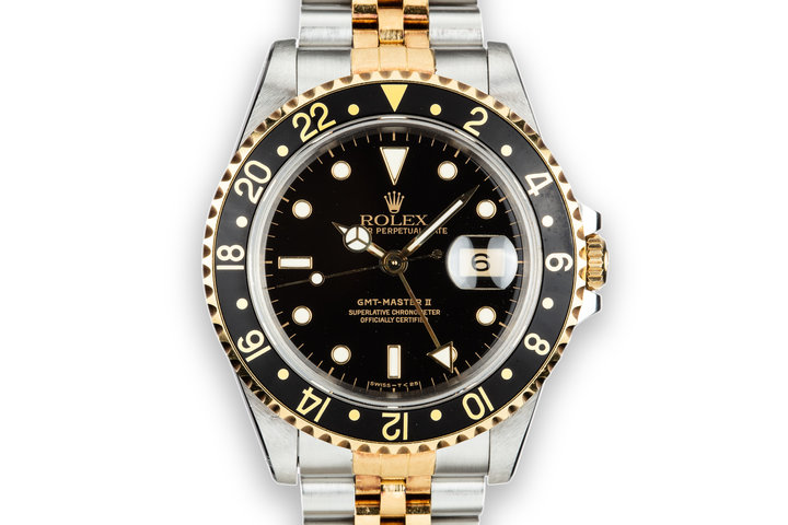 1989 Rolex Two-Tone GMT-Master II 16713 photo