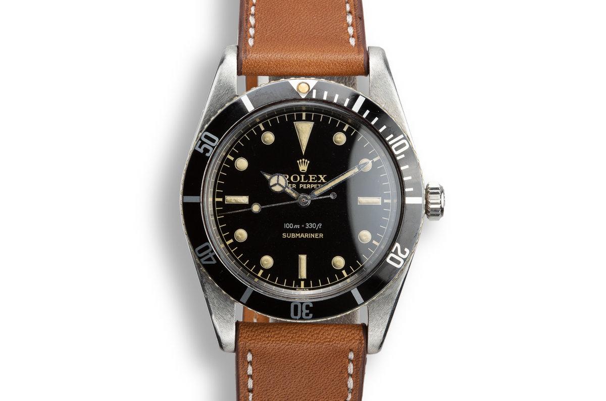 1958 Rolex Submariner 5508 Gilt Dial photo, #0