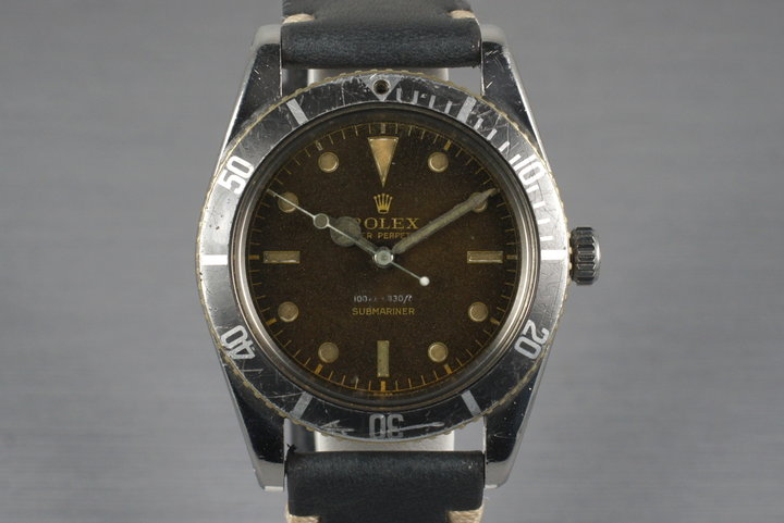 1959 Rolex Submariner 6536-1 with Tropical Dial photo