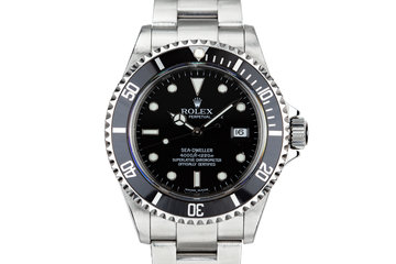2003 Rolex Sea-Dweller 16600 with Box and Papers photo