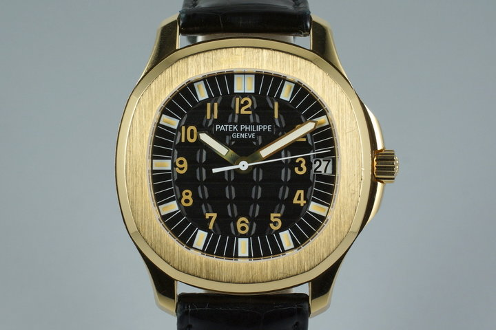 2004 Patek Philippe YG Aquanaut 5065J photo