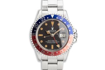 "1979 Vintage Rolex GMT-Master 1675 ""Pepsi"" photo"