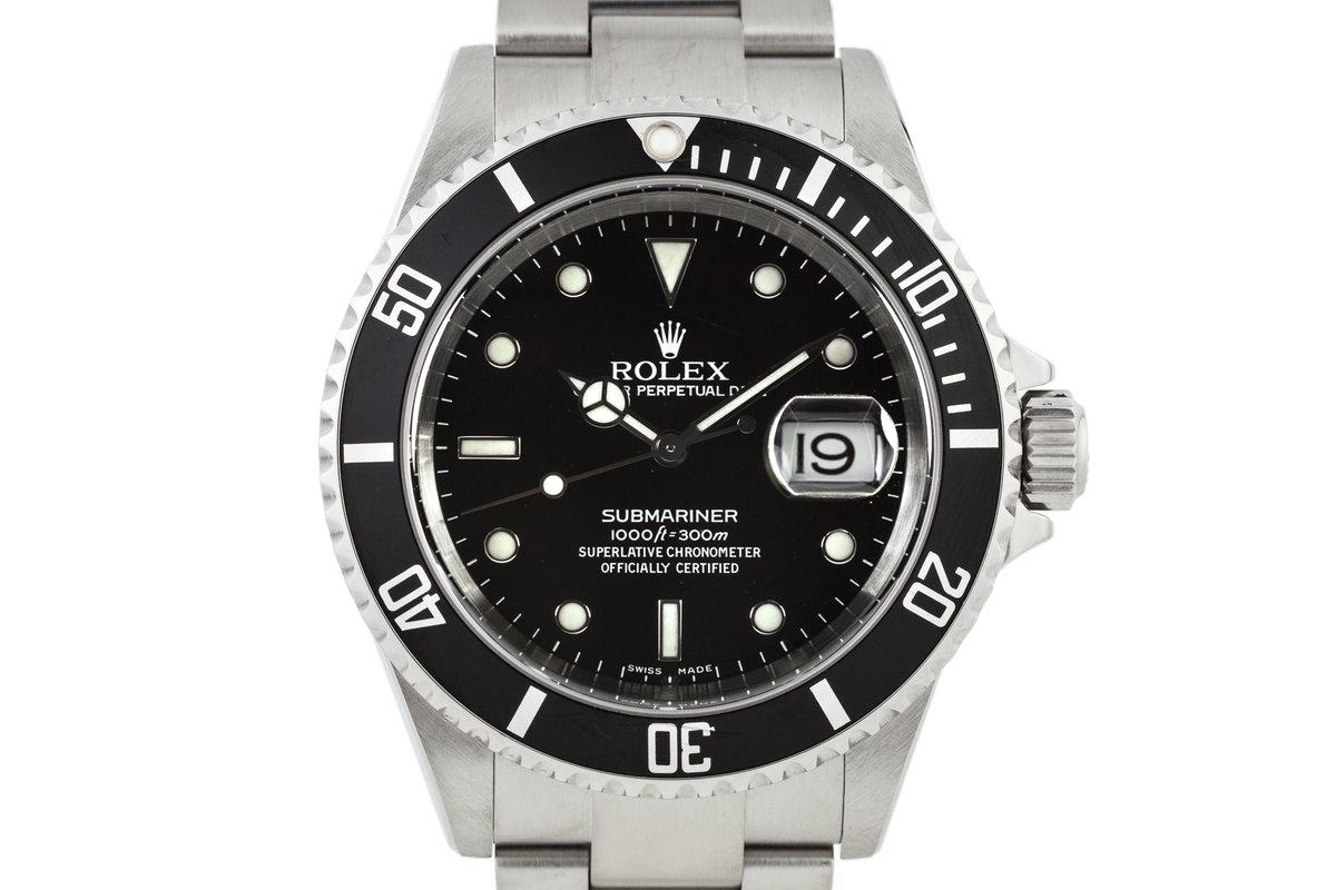 2004 Rolex Submariner 16610 photo, #0