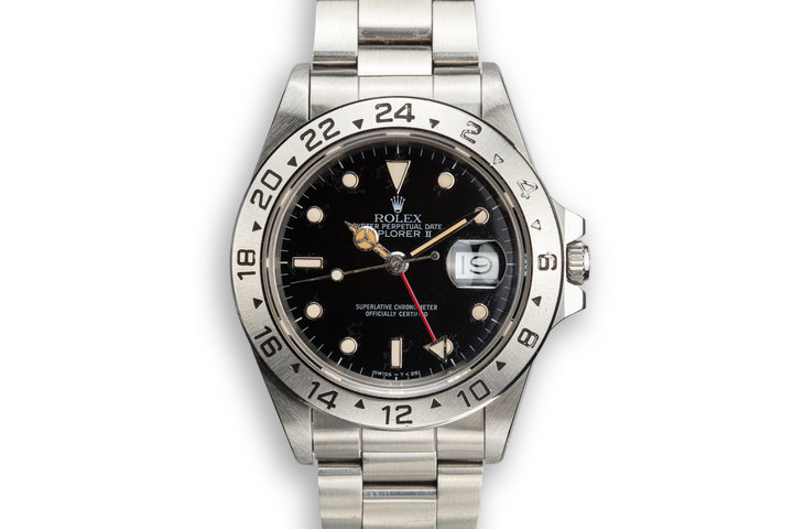 1987 Rolex Explorer II 16550 Black Dial photo