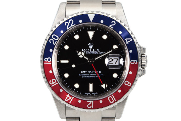 2003 Rolex GMT II 16710 with Box and Papers photo