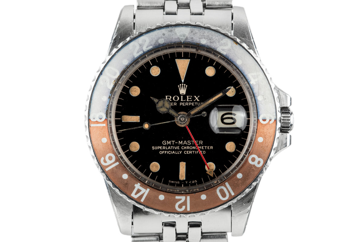 1965 Rolex GMT-Master 1675 with Gilt Dial photo, #0