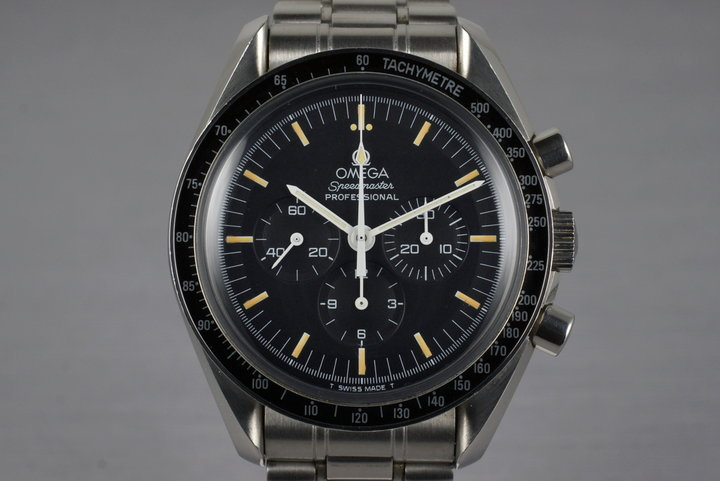 1989 Omega Speedmaster DeLuxe 345.0808 Calibre 863 photo