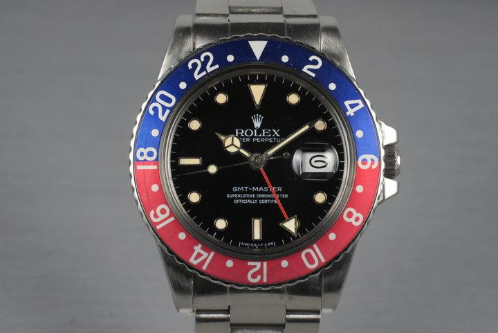 1983 Rolex GMT 16750 photo