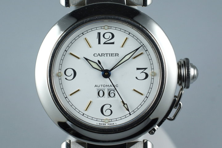 Cartier Pasha 'C' 2475 Big Date photo
