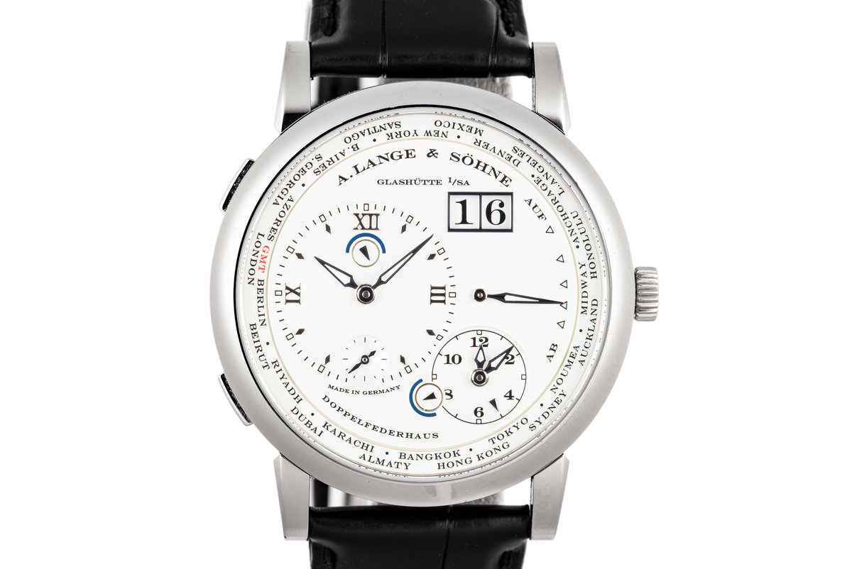 2017 A.Lange & Söhne Lange 1 Time Zone 116.039G with Box and Papers photo, #0
