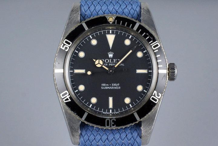 1958 Rolex Submariner 5508 Service Dial photo